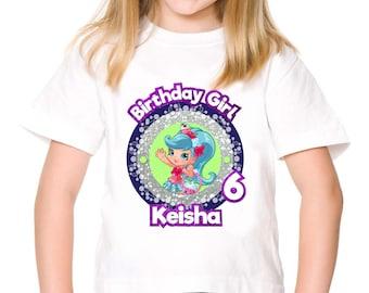 Personalized Shopkins Jessicake Shoppies Tee Shirt Tshirt Shirt Iron On Transfer Shirt Image Printable DIY - Digital File