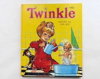 Vintage 1983 TWINKLE Specially For Little Girls Annual Book 1980's Childrens