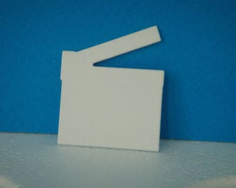 Cutting clap film for scrapbooking and card