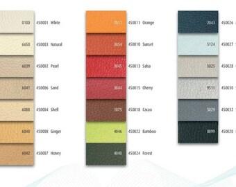faux leather, vellum, faux leather, colors, polyurethane, cotton, washable