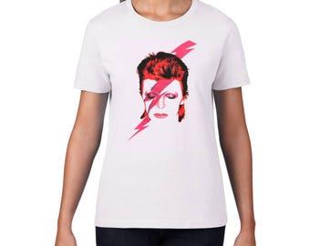 David Bowie #2 T-Shirt (Womens)