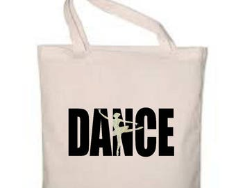"""Cotton bag 38 x 42 cm """"Dance"""""""