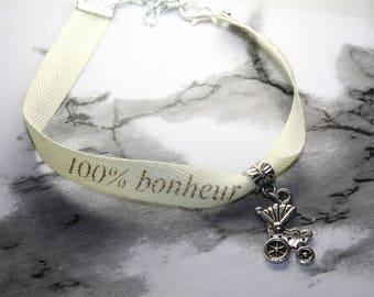 100% happiness bracelet