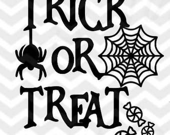 Trick or Treat SVG file