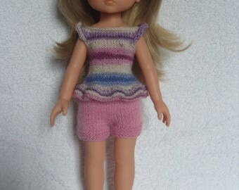 The sweethearts doll clothes, shorts and tunic