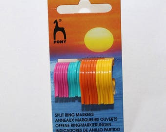 Markers open for knitting - set of 24 - Pony - 2477
