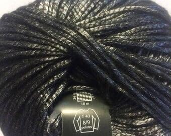 shiny black PLASSARD NEXT new yarn