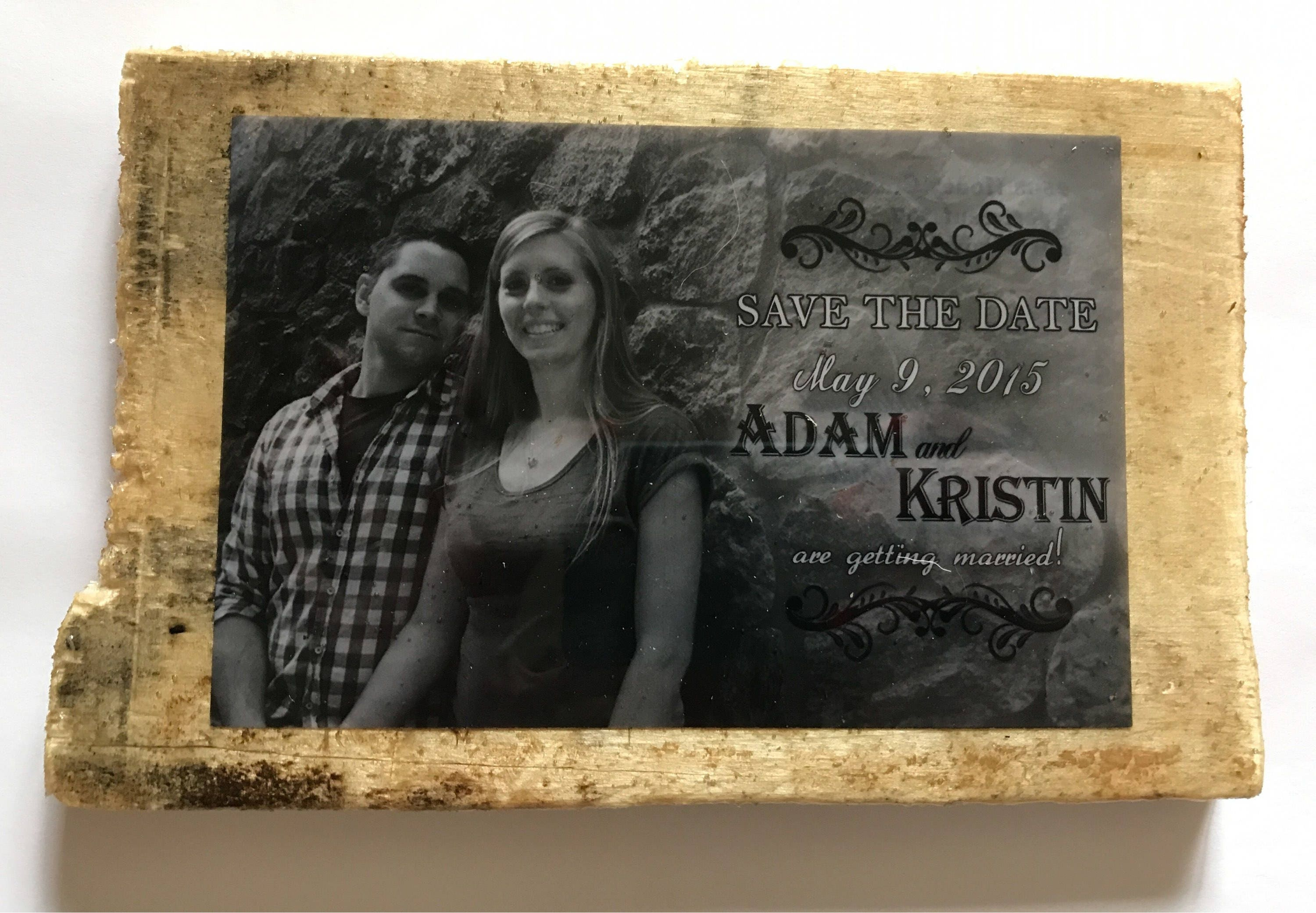 Custom Save-the-Date or Wedding Invitation Keepsake ...