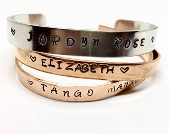Customizable Bracelet, Stackable,  Quote,  Personalized, Equestrian, Create Your Own