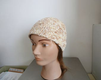 MITIGATES HAT YELLOW CROCHET - MADE NEW