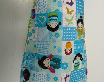 Pretty 2/3 years, pinafore dress
