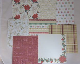 """Assortment of Christmas """"first Christmas"""" paper 1"""