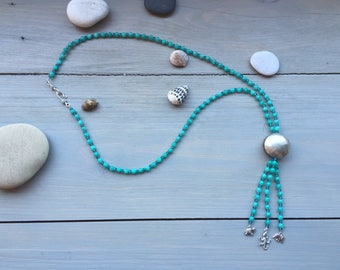 Beautiful necklace with jade Palma collection