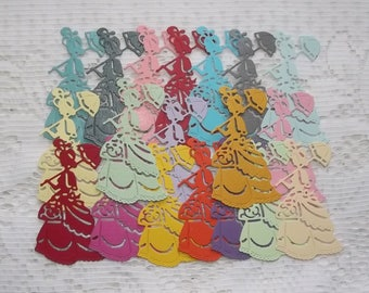 Set of 20 cuts women for your scrapbooking creations.