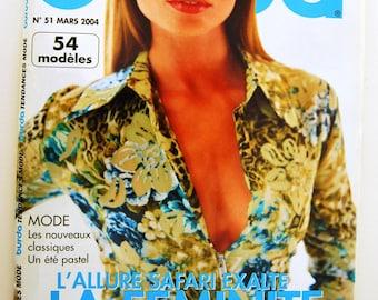 Magazine Burda March 2004 No. 51 trendy summer fashion trends