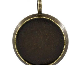 18 MM/10 blank pendant ring within 15 days