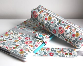 Notebook set, Kit and brand page liberty Betsy