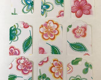 9 Floral Gift Tags