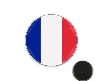 France flag - 25 mm Magnet magnet