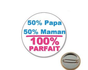 Birth Ø25mm pin badge