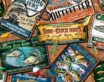So Many Fishes ads from Quilting Treasures