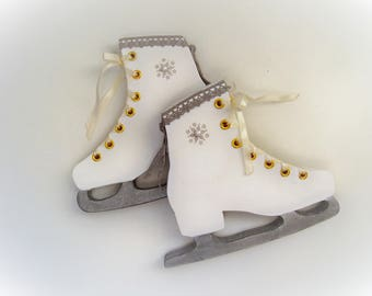 Patin glace etsy for Decoration glace