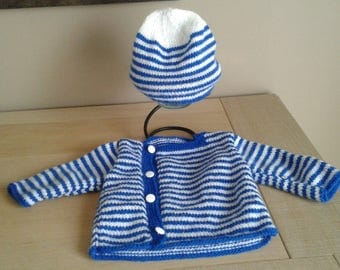 Hand knitted baby clothing size 3 months