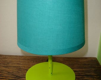 light green shade piercing blue turquoize