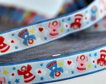 Stripe Blue Angels Farbenmix Ribbon
