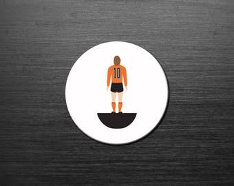 Dream Team 'Legends of the No.10' coaster. NETHERLANDS. 4 Pack. Mix n Match