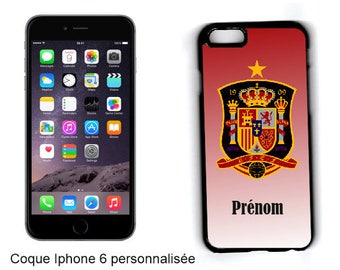 "CASE hard IPHONE 6 / 6 S/7 ""Spain"" customized"