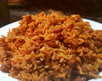 Dehydrated Rice and Beans for Two