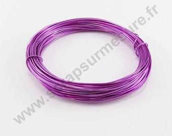 Ø 1 mm - LILAC - x 2 m aluminium wire