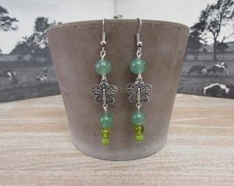 """""""Light Butterfly"""" earrings"""