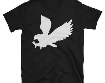 Metal Gear Online Revival MGO MGO2R Eagle Emblem Animal Rank Unisex T-shirt