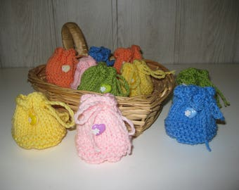 chocolate dragees wool set of 10 bags