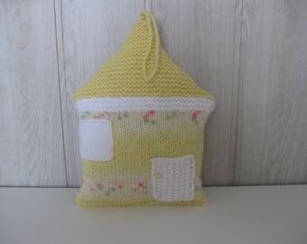 woolen House shape pillow