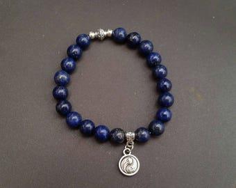 Lapis Lazuli (8 mm beads) bracelet