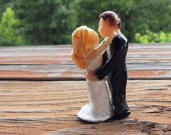 Miniature Wedding Cake Topper