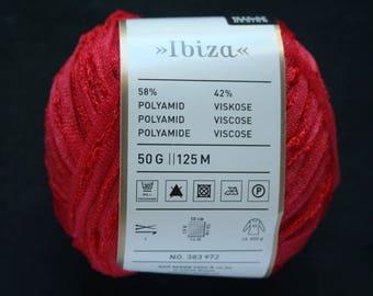 Skein red Rico Design Ibiza Fabre 004