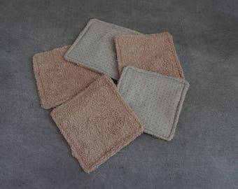 Set of 5 wipes
