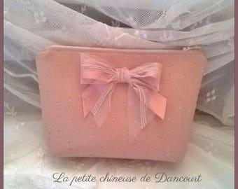 Powder Pink leatherette case