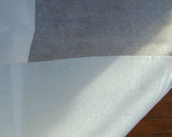 LARGE thick wide paper embroidery stabilizer