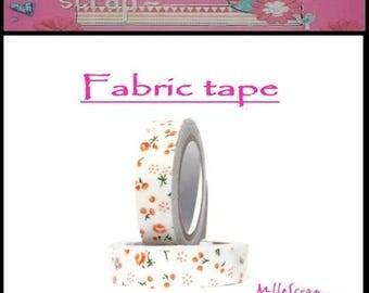 5 m fabric tape sticker embellishment scrapbooking cardmaking 10 *.