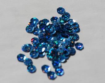 Sequins / blue glitter retail packs of 18
