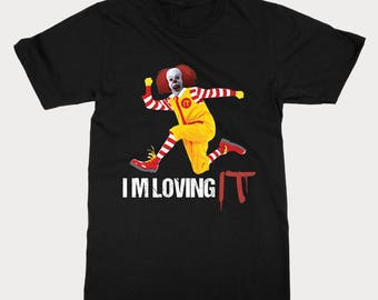 it shirt stephen king - Classic Stephen King IT Inspired T Shirt - We All Float Down Here Alternative Scary Clown Shirt