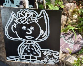 Charlie Brown Peanuts Gang Painting