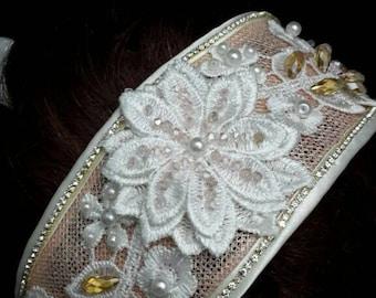 Vintage style wedding tiara