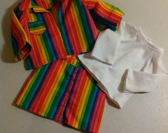 American Girl/My Life Skirt and Jacket