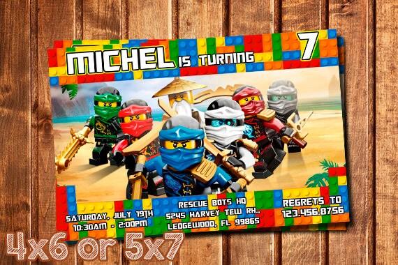 Ninjago lego ninjago invitation ninjago birthday invitation ninjago lego ninjago invitation ninjago birthday invitation ninjago party ninjago lego birthday stopboris Images